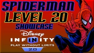 Disney Infinity 2 0 Spiderman Level 20 Skill Tree  - Spiderman Alien Symbiote By DisneyToyCollector