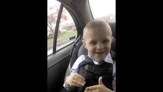 4 year old rapping rapgod by Eminem