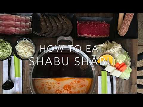 How to Eat Shabu Shabu Like a Pro