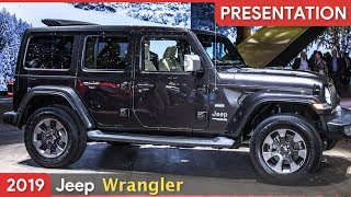 2019 Jeep Wrangler Europe Premiere at Geneva Motor Show 2018