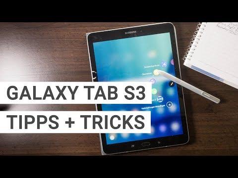 Samsung Galaxy Tab S3 Tipps und Tricks   Deutsch