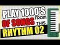 Rhythm Piano |  Rhythm No.  Two |  Straight Beat Gospel Style