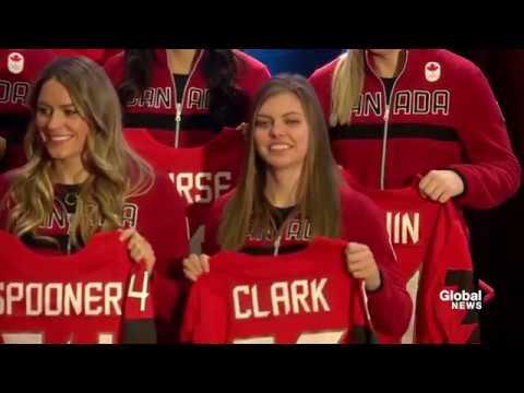 Team Canada's Women's Olympic hockey team members announced