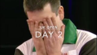 CRAZY DRAMA! The Round of 32 at the UK Open = Pressure-Cooker! #Darts #UKOpenDarts #Minehead