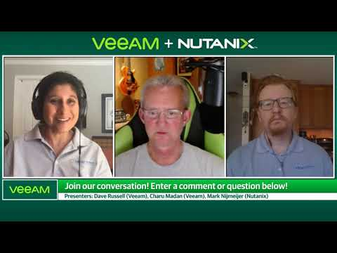 Veeam + Nutanix: To Appliance Or Not To Appliance?