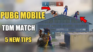 TDM WAREHOUSE 5 NEW TIPS AND TRICKS IN PUBG MOBILE