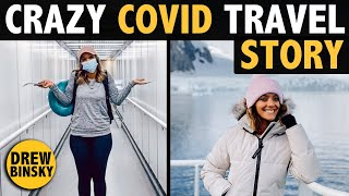 CRAZY COVID TRAVEL STORY (trapped in ANTARCTICA!)