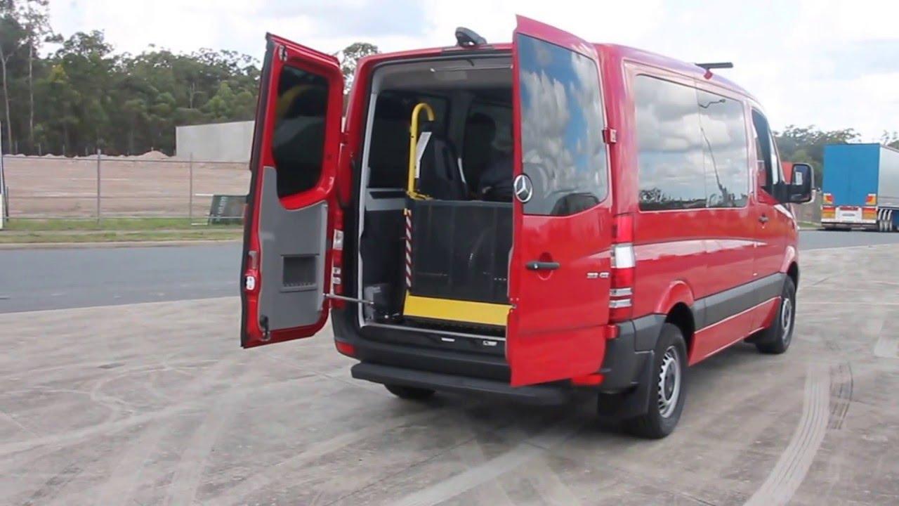 Caddy Storage QLD   Mercedes Sprinter Wheelchair Conversion