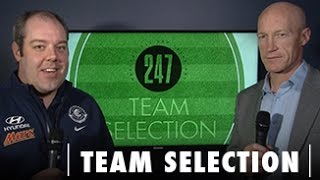 Team Selection - Round Nine