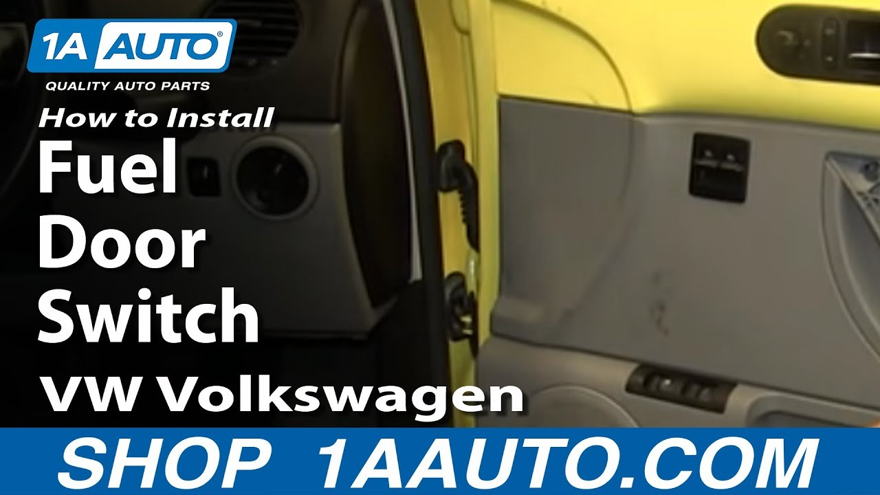 hight resolution of how to install remove fuel door switch 1998 10 vw volkswagen beetle