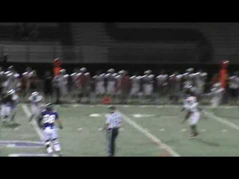 Solomon Enis 47 yard catch and Run TD