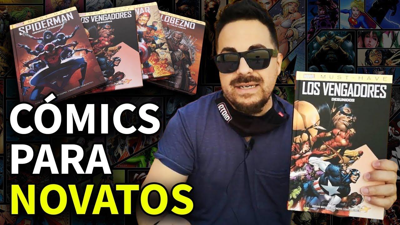 ¡EMPIEZA A LEER CÓMICS MARVEL de forma BARATA! Colección Must-Have