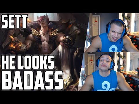 TYLER1 REACTS TO SETT ABILITY PREVIEW