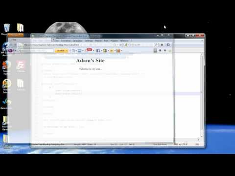 CSS Tutorial 1 - Introduction in Cascading Style Sheets