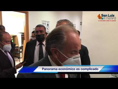 Panorama presupuestal y económico es complicado para SLP: JM Carreras