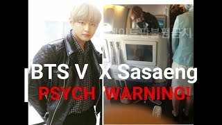 BTS V / Taehyung X Sasaengs + PSYCH WARNING! #IDOL