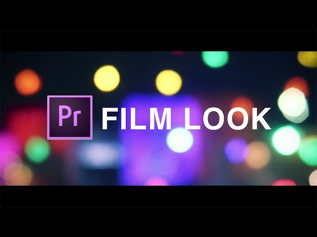 How to Achieve a Cinematic Film Look with WideScreen Bars in Adobe Premiere Pro (CC Tutorial)