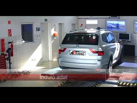 BMW X3 218LE  Chiptuning dyno. Kellemessé vált a vezethetősége a +80-100Nm-nek köszönhetően