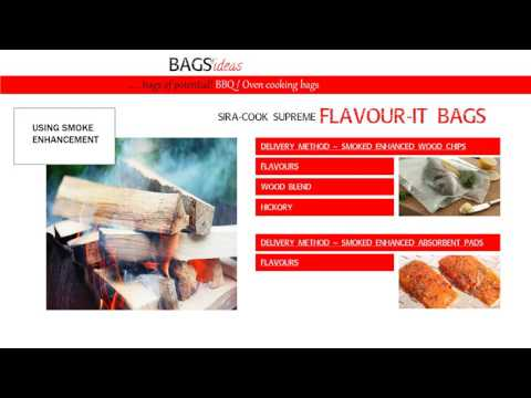 Oven/BBQ cooking bag solutions from Sirane Ltd