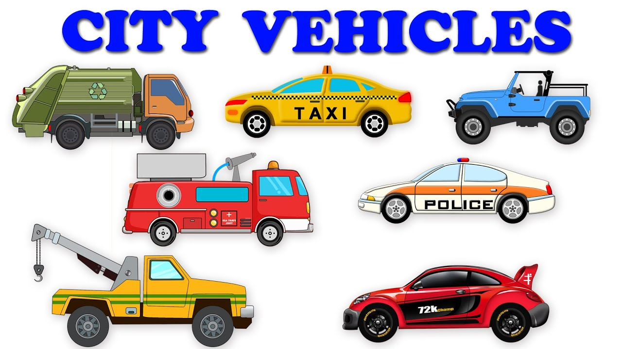 City Vehicles | Street Vehicles | Unboxing Cars - YouTube