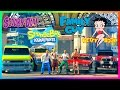 GTA ONLINE ANIMATED CARTOONS SPECIAL - FAMILY GUY VS THE SIMPSONS, SOUTH PARK, SPONGEBOB & MORE!!