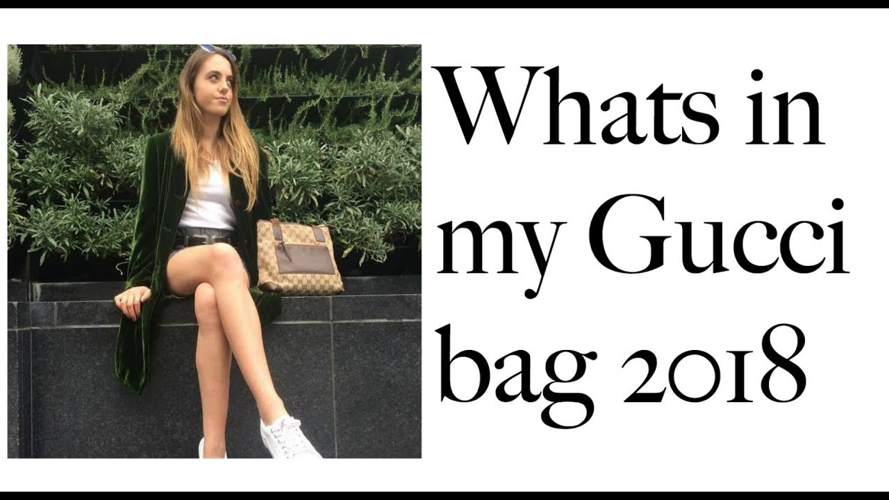 Whats in my bag - THAT GIRL