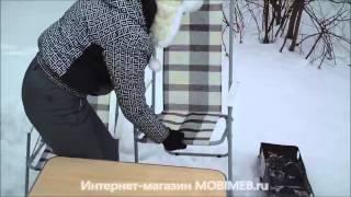 Зимний пикник 02 2013(Пример зимнего пикника с кемпинговой мебелью Мебек Стол складной