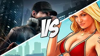 Gta 5 Vs Watch Dogs Map! Watch Dogs Map Vs Grand Theft Auto 5 Map! (gta V)