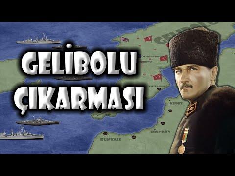 1.Dünya Savaşı #3   Gelibolu Kara harekatı