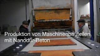 Produktion von UHPC-Elementen (Deutsch) aus Ultra High Performance Concrete