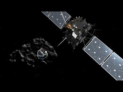 Science Bulletins: Rosetta Mission Lands Probe on Comet
