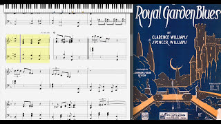 Royal Garden Blues by Clarence Williams (1919, Blues piano)