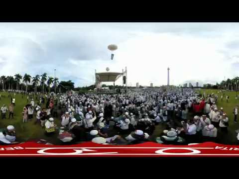 Heboh.. !!! detik -detik Habib Rizieq memasuki Monumen Nasional