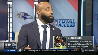 BREAKING: DeAngelo Hall on Ravens acquire CB Marcus Peters from Rams | NFL Total Access