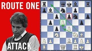 Route One Attack - Spassky vs Kostro | Olympiad Siegen 1970 |