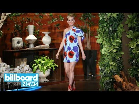 Ellen Degeneres Forgot Katy Perry Had Married Russell Brand   Billboard News