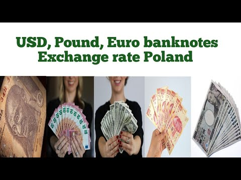 Forex Currency Exchange Rate In Poland | Dollar To Poland Polish Zloty Banknotes Exchange Rate