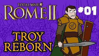 Total War: Rome 2 - Troy Reborn - Part One!