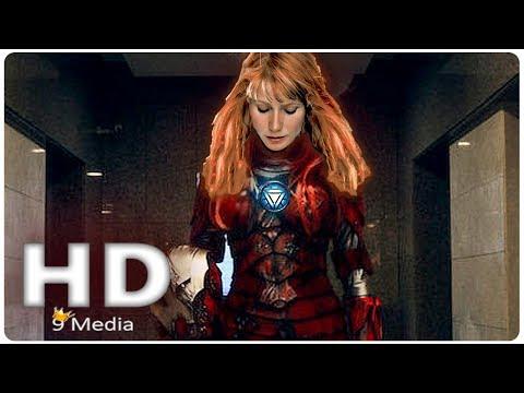 AVENGERS 4 Leak _ Iron Woman Reveal (2019) Pepper Potts Rescue, Marvel Superhero Movie HD