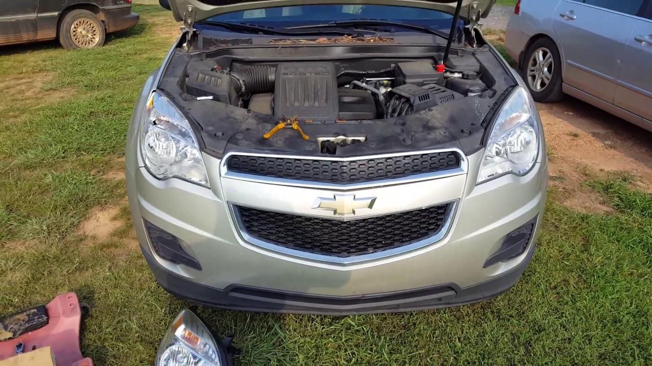 2010-2015 Chevrolet Equinox Headlight Removal / Install