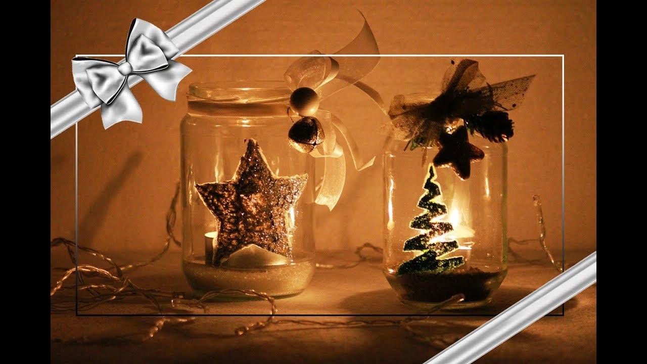 Diy lanterna di natale fai da te riciclo creativo for Fai da te creativo