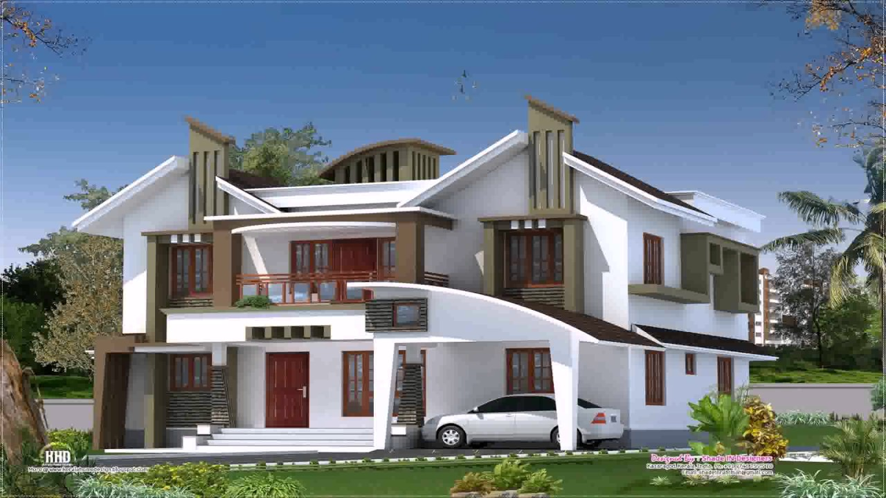 Kerala Style Modern House Plans YouTube