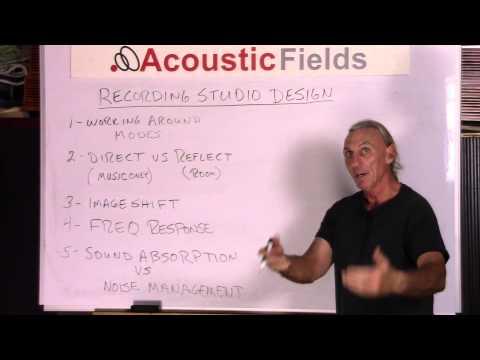 Recording Studio Design Principles - www.AcousticFields.com