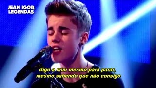 Justin Bieber - U Got It Bad/Because Of You (Legendado-Tradução) [ACOUSTIC]