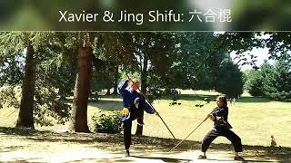 Xavier & Jing Shifu Shaolin Saber & Staff 2