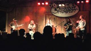 Greensky Bluegrass - Light Up Or Leave Me Alone