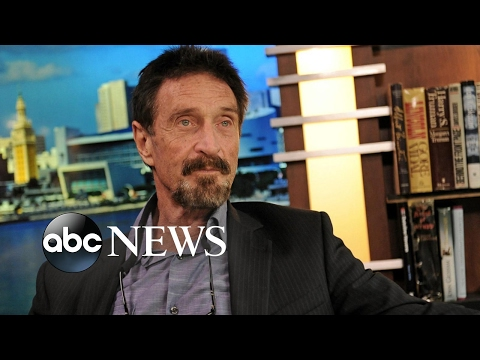 John McAfee says he 'had nothing to do' with neighbor's murder