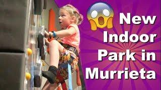 New Murrieta Indoor Park Sneak Peek - Uptown Jungle