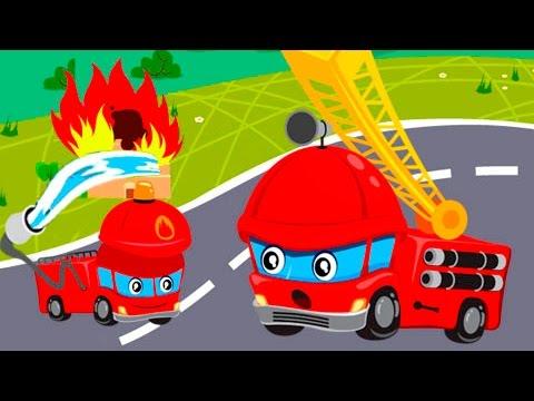 Смотреть мультфильм про пожарную машину онлайн бесплатно