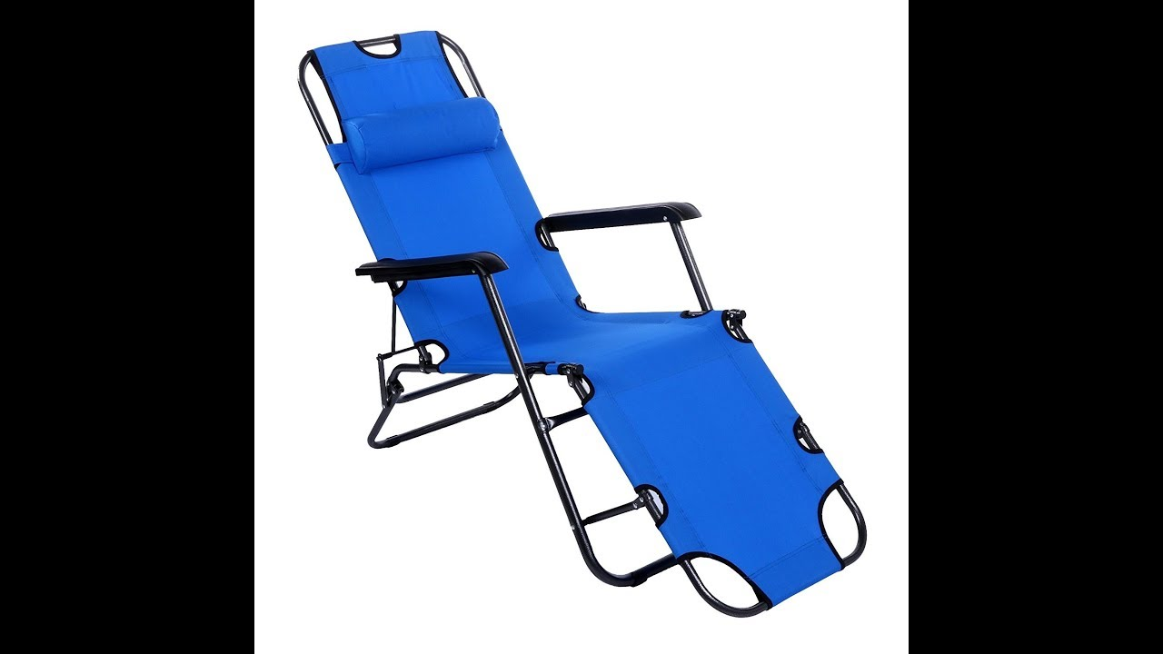 Folding Chaise Lounge Chairs Outdoor Yuebo Chaise Lounge Chair Outdoor Patio Folding Recliner